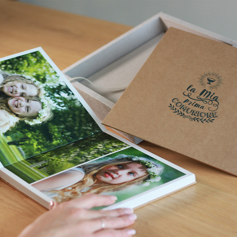 Fotoalbum Linea Kraft ALBUM COMUNIONE E CRESIMA